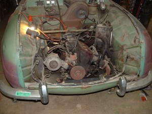 Seized Engine, Crumpled Wheel Housing