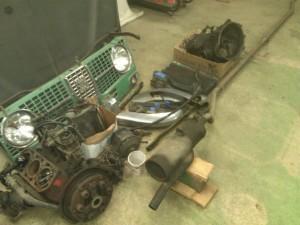 Engine, Tranny, Whole Exhaust...