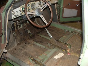 Front Floor and Dash
