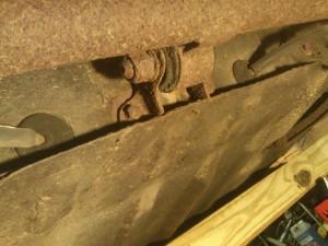 Rear Axle Center Bearing