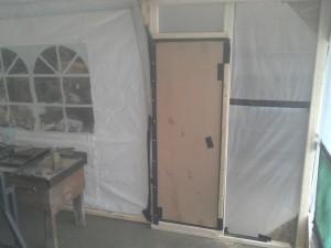 Cardboard Access Door