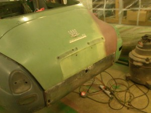 Checking Fit and Squareness with Trunk Lid