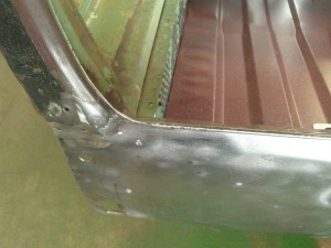 Welded Back Panel Alignment