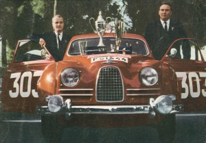 Erik Carlsson Wins 1962 Monte Carlo Rally