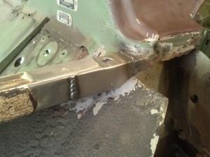 Closeup of Top Corner Patch
