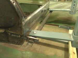 Rear Rotisserie Adapter