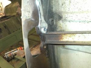 Removing Broken Hinge Screw