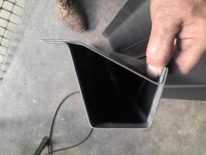 Testing Fit of Rocker Panel Sections