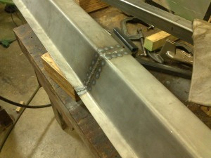 Welded Rocker Panel, Exterior