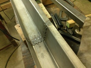 Welded Rocker Panel, Interior