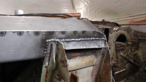 19. Rocker Welded to Front Side Wall