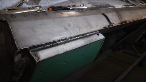 20. Rocker Trimmed and Welded at Rear