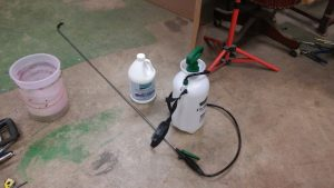 29. Garden Sprayer and Corroseal