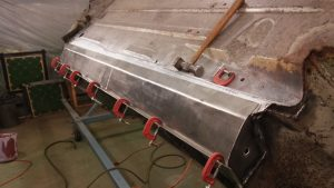 37. Welding Passenger-Side Rocker Bottom